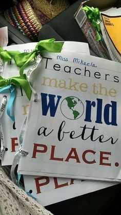 """Educator Appreciation Week theme: educators make the world a better place! - passports themed for each day - globe centerpieces - maps vintage style - """"Get your passport ready for a week of fun! Teacher Luncheon Ideas, Teacher Appreciation Luncheon, Teacher Party, Employee Appreciation Gifts, Teacher Gifts, Teacher Tote, Volunteer Appreciation, Teachers Week, World Teachers"""