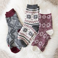 Womens 3 Pair Pack Holiday Boot Socks 2019 Casual or Dressy you cant go wrong with our 3 Pair Pack of Womens MUK LUKS Socks. The post Womens 3 Pair Pack Holiday Boot Socks 2019 appeared first on Socks Diy. Winter Socks, Fall Socks, Cozy Socks, Winter Mode, 2016 Winter, Colorful Socks, Happy Socks, Sock Shoes, Winter Fashion