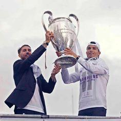 Sergio Ramos & Cristiano Ronaldo  #LaUndecima