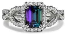 Alexandrite ring. I love this.