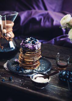 Call me cupcake: Breakfast in bed - Lemon ricotta pancakes