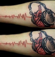 In the music tattoo designs instruments, music symbols, and song lyrics are used in tattoo designs. refresh your mind with these music tattoo designs. Dj Tattoo, Wild Tattoo, Note Tattoo, Tattoo Fonts, Ankh Tattoo, Music Tattoo Designs, Tattoo Designs And Meanings, Music Tattoos, Body Art Tattoos
