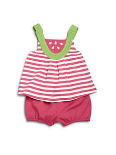 Florence Eiseman - Infant's Watermelon Knit Set