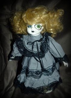 I'll be watching you  Altered horror doll by FreakasaurusRex, £55.00