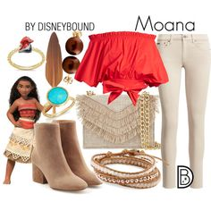 4 must try bachelorette disneybound outfits! Disney Bound Outfits Casual, Moana Outfits, Cute Disney Outfits, Disney Themed Outfits, Disney Dresses, Casual Outfits, Cute Outfits, Princess Inspired Outfits, Disney Princess Fashion