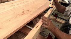 An 84 second look behind the scenes at how our sustainable living edge tables are made!