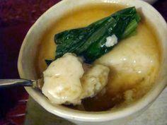 ベジ茶碗蒸し! ふわとろ豆腐と山芋の蒸しあんかけ   thyme ~マクロビオティックを愉しむ~