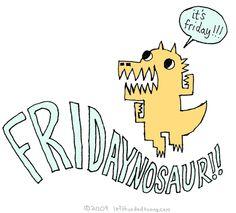 Fridaynosaur  | Left-Handed Toons