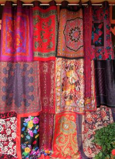 BOHEMIAN+RHAPSODY++Bohemian+Gypsy+Curtains+by+BabylonSisters,+$265.00