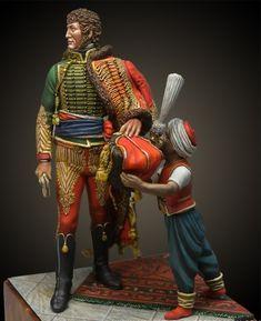 Joaquim Murat - Virtual Museum of Historical Miniatures Etat Major, Military Figures, Virtual Museum, Napoleonic Wars, Figure Model, Toy Soldiers, Little People, Figure Painting, Empire
