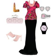 """""""Nigerian Party Outfit"""" by curvygirl-851 on Polyvore"""
