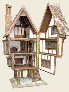 """The Swan"", Open Detail, Triggerpond Dollhouses"