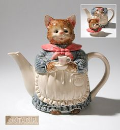 Otagiri Mrs Cat Teapot - finally found one that was in my collection that was smashed during shipment!