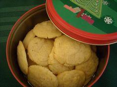Vanilla Butter Cookies