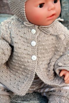 Knitting patterns for dolls