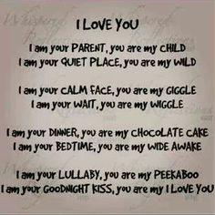 I love you Gabriel, Leana and Ella