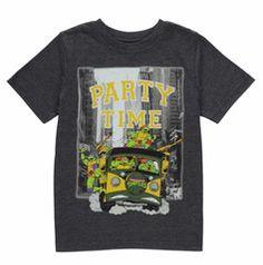 TEENAGE MUTANT NINJA TURTLES ~ Party Time T-Shirt
