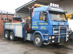 Scania-143 E 470 der Fa. Grotz