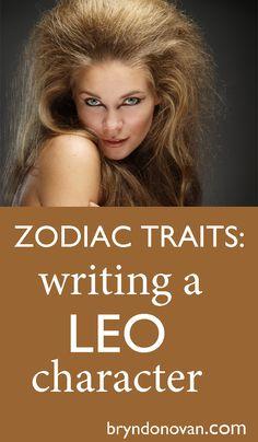 Zodiac Traits – Write a Leo Character! Fiction Writing, Writing Advice, Writing Resources, Writing Help, Writing A Book, Writing Ideas, Writing Prompts, Writing Characters, Zodiac Characters