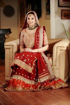 Bridal Wear Indian Lehenga Collection 2015 For Women Bridal Mehndi Dresses, Beautiful Bridal Dresses, Pakistani Wedding Dresses, Pakistani Outfits, Bridal Outfits, Indian Dresses, Bridal Lehenga, Beautiful Bride, Bollywood
