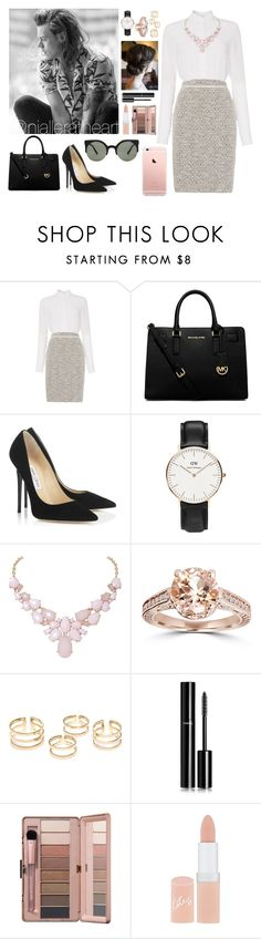 """""""Paris with Harry"""" by nialleratheart ❤ liked on Polyvore featuring HUGO, MICHAEL Michael Kors, Jimmy Choo, Daniel Wellington, Humble Chic, Chanel, Rimmel and Forever 21"""
