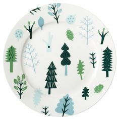 Enjoy your rainy day lunch on the Rainy Day Dinner Plate, which happens to coordinate perfectly with our Cloud Plate!  Hand-made and printed in Stoke-on-Trent, England.     100% Bone China.