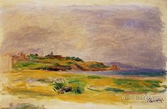 Pierre Auguste Renoir Cagnes Landscape oil painting reproductions for sale