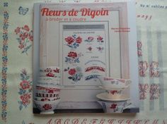 Boek Fleurs de Digoin, prachtig boek...ben er erg blij mee.