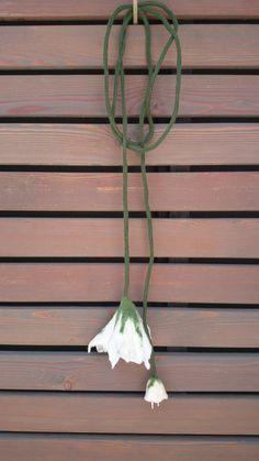lámpara de fieltro. lanatalan