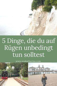 Deutschlands größte Insel Rügen hat viel zu bieten. Ich verrate dir die 5 Highlights: Dinge, die du unbedingt auf Rügen tun solltest!