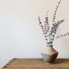 Woodfired handmade vase.