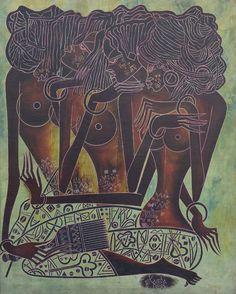 Kamba Luesa Afro Art, African Art, Black Art, Art For Sale, Contemporary Art, Sculptures, Art Pieces, Bronze, Rock