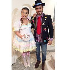 Fantasia Festa Junina, vestido noiva caipira
