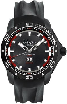 39-47-16-16-54 Glashutte Original Sport Evolution Impact Panorama Date Mens Watch