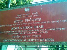 Kotla Firoz Shah (Ferozabad) are the 450 year old ruins of the 5th city of Delhi http://travelerrohan.blogspot.in/