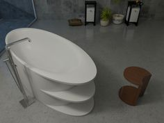 Bathtub by Adriana Gromnyuk, via Behance