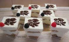 Tiramisu do pohára - recept Tiramisu, Panna Cotta, Pudding, Recipes, Food, Dulce De Leche, Meal, Custard Pudding, Food Recipes