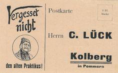 POSTKARTE KOLBERG IN POMMERN 1910 Lück Praktikus