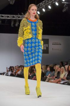 Thea Sanders Visionary Knit winner.  NTU Fashion Knitwear and Knitted Textile Design course.