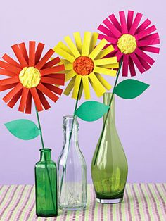 toilet paper roll flowers  Toilet paper roll crafts