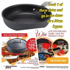 April Special offer - Independant of The Chefs Toolbox from Lisa to you.