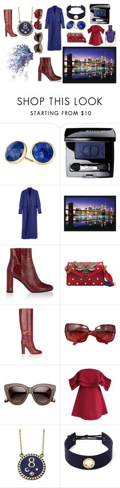 """""""My lovely autumn"""" by mengovat ❤ liked on Polyvore featuring Marco Bicego, Christian Dior, Acephala, Yves Saint Laurent, Gucci, Chloé, La Perla, Chicwish and Foundrae"""