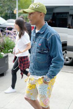 898c3af5 Pharrell Williams Photos Photos: Pharrell Williams and G-Star RAW Present  the New G-Star Elwood X25 Prints - New York Fashion Week - Spring/Summer  2018