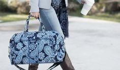 LOVE IT!! Love this Vera Bradley bag even more when you buy through iQShop and EARN CASH BACK in the process ♥ • ♥ Join NOW for FREE!! ♥ • ♥ iQShop, YOUR on-line shopping mall with 1500+ of your favorite merchants all in one place!!