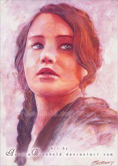Katniss by AuroraWienhold.deviantart.com on @deviantART