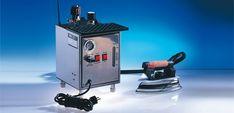 Stațiile de călcat profesionale sunt destinate uzului în scopuri comerciale și in mici afaceri, dar pot fi utilizate ușor și de către gospodinele perfecționiste. Aflați care sunt cele mai bune stații de călcat profesionale și care sunt criteriile pentru a alege cea mai bună stație de călcat profesională... Steam Iron, Boiler, Home Appliances, Irons, Mai, Sewing, Crafts, Products, House Appliances