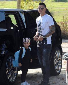 Football player James Rodriguez wearing the #Dsquared2 t-shirt. #D2Celebrities #JamesRodriguez
