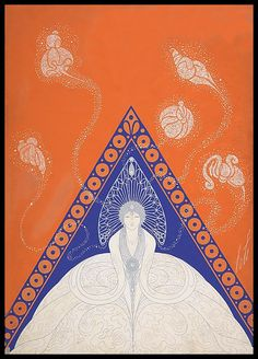 Erte- cover Harpers Bazaar 1921-Modes d'Hiver