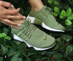 Nike Air Presto - Women s - Olive Green   White  0ee6fc78b