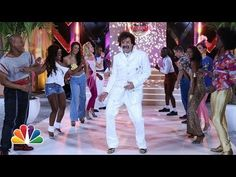 "▶ ""Dance Avenue"" '80s Dance Line With Jimmy Fallon & The Roots - YouTube"